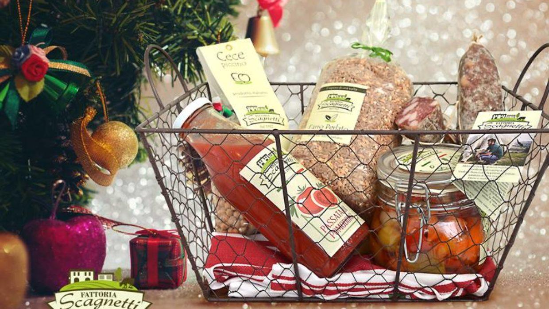 Pronti per i cesti natalizi di Fattoria Scagnetti