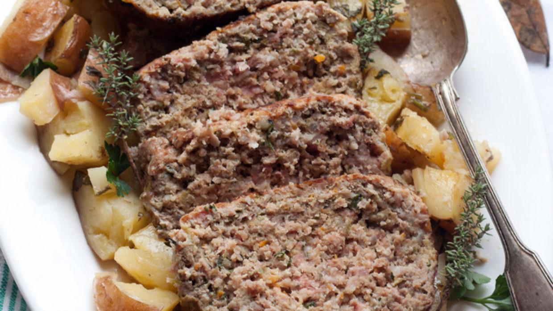 Il polpettone della cucina povera Maceratese