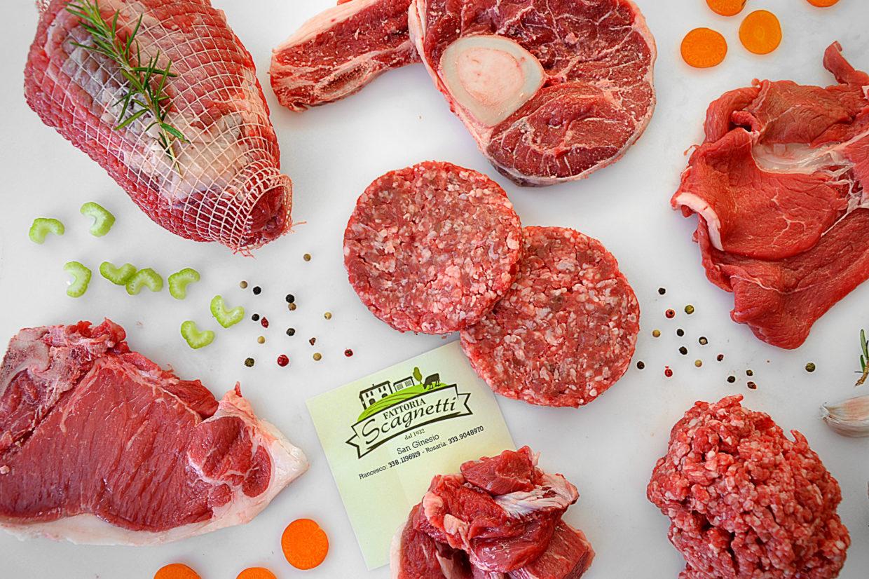 Disponibili pacchetti di carne 100% italiana e biologica Fattoria Scagnetti